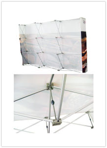 Outdoor Display Stand Pop up System (DW-VPU-2 4*3/3*3) pictures & photos
