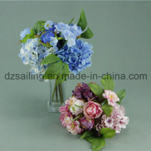 Decorative Artificial Peony Bouquet Flower (SF12274)