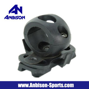 Anbison-Sports Airsoft Single Clamp Mount for 1′/25.4mm Flashlight pictures & photos