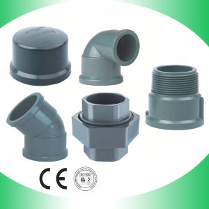 PVC Reducing Tee Fitting Tee Reducer Three Way Connector pictures & photos