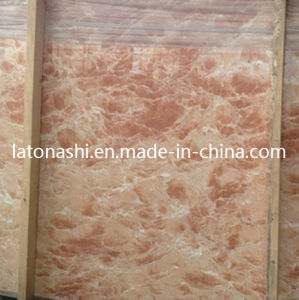 Cheapest Natural Tea Rose Stone Marble for Tile, Vanity Countertop pictures & photos
