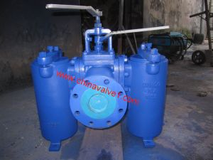 Flanged Plug Valve Connected Duplex Basket/Bucket Strainer (GSVS20) pictures & photos