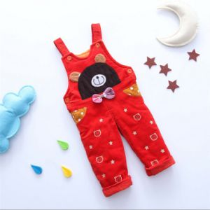 P1125 New 2015 Spring/Autumn Baby Boys Girls Overalls Can Open Files Bib Baby Kids Pants Baby Rompers Casual Jumpsuit pictures & photos