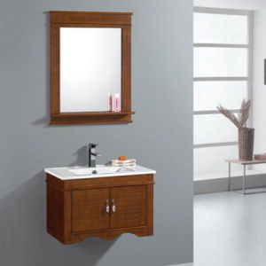 Solid Wood Bathroom Cabinet Modern Style Bathroom Vanity (ADS-661) pictures & photos