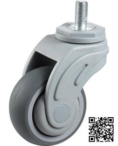 Screw Swivel TPR Medical Wheel pictures & photos