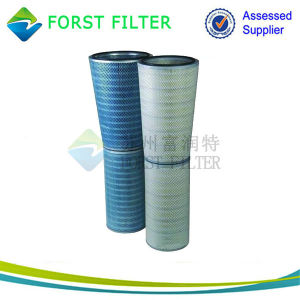 Forst Gas Turbine Air Compressor Pleated Cellulose Cartridge Filter pictures & photos
