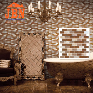 Strip Glass Mosaic and Stone Marble for Wall Background (M838003) pictures & photos