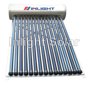 High Quality Thermosyphon Heat Pipe Ss Solar Water Heater pictures & photos