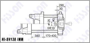 Servo Motor Injection Moulding Machines138t Hi-Sv138 pictures & photos