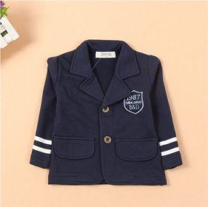 T1159 2015 Autumn New Arrival Korean Style Boys Coat Cotton Preppy Style Soft Simple Kids Clothes Children Clothing for Wholesale pictures & photos
