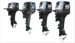 Durable Outboard Engine 2 Stroke 9.9HP for Fisherman pictures & photos