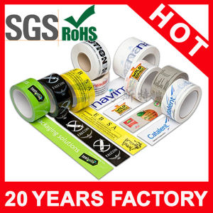1.8 Mil Waterproof Printed Adhesive Carton Sealing Tape pictures & photos