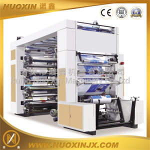 Stack Type 6 Color Roll Paper Flexo Printing Machine pictures & photos