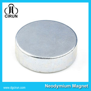 N35 Disc Sintered Permanent Neodymium Rare Earth Magnets for Loudspeaker pictures & photos