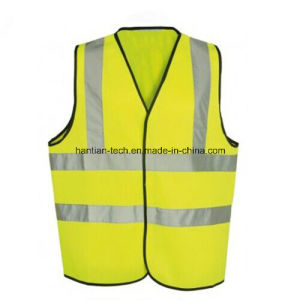 CE Approval Yellow Color Safety Jacket for Traffic Police pictures & photos