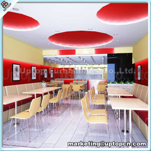 (SP-CS286) Modern Design China Fast Food Restoranda Masa Ve Sandalye Furniture Sets pictures & photos