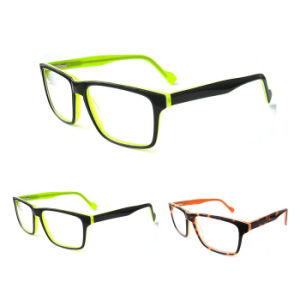 Double Rectangular Acetate Glasses, New Arrive Glasses pictures & photos