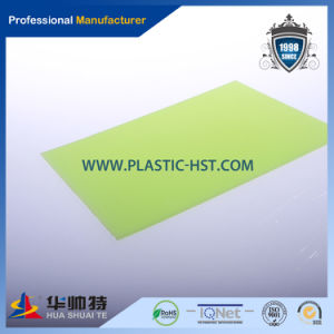 Optical Grade 12% Haze Anti-Glare Solid Polycarbonate Sheet pictures & photos