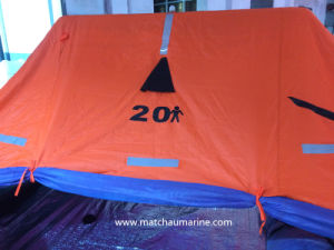 10 Men Automatic Inflated GRP Contained Liferaft pictures & photos