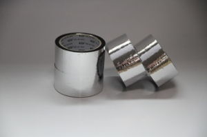 Fireproof Sliver Aluminum Foil Adhesive Tape