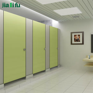Jialifu Wood Grain Phenolic Resin Toilet Partition pictures & photos