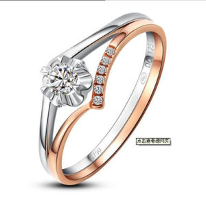 Fashion Special Unique Design Synthetic Diamond Ring Jewelry pictures & photos
