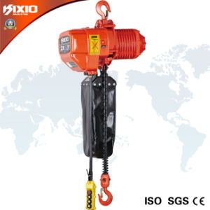 SGS 3 Ton Hook Type Electric Chain Hoist pictures & photos