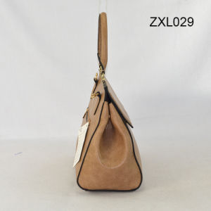 New Arrival PU Leather Lady Bags Promotion Tote Handbag Zxl029 pictures & photos