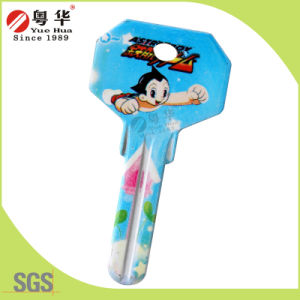 2016 Hot Sale Custom Key Blank with Logo Printing pictures & photos