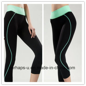 High End Women Clothes Quick-Drying Sport Running Yoga Pants pictures & photos