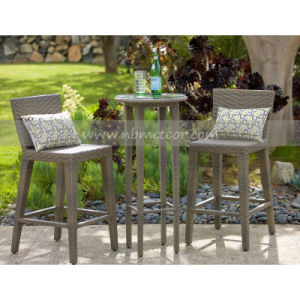 Mtc-014 Outdoor Furniture PE Rattan Bar Set for 2 Person pictures & photos