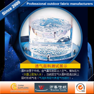 100% Nylon Fabric Top Waterproof Breathable Fabric for Outdoor Tent pictures & photos