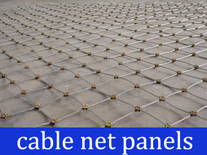 Rock Stabilization Cable Net Panels pictures & photos