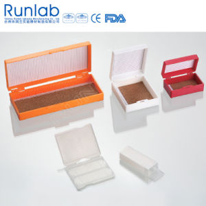 Microscope Slide Storage Boxes with 100 Place pictures & photos