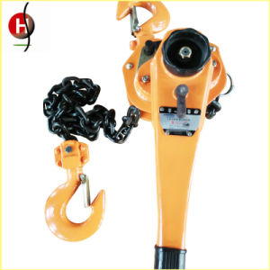 High Quality 0.75t 1.5m Lever Chain Block with CE Certificate pictures & photos