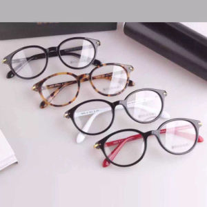 Simple Designed Acetate Eyeglass Optical Frame pictures & photos