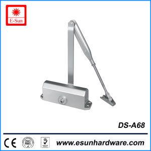 Safety Popular Designs Aluminium Alloy Glass Door Closers (DS-A68) pictures & photos