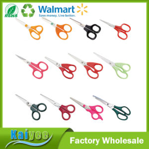 5-Inch Blunt Tip Safety Plastic Children Scissor Shool and Household pictures & photos