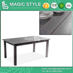 Poly Wood Table Coffee Table Dining Plastic Table Outdoor Table (Magic Style) pictures & photos