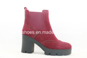 New Arrival Simple Design Ladies Boots pictures & photos