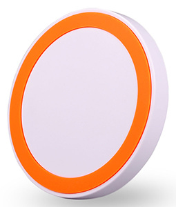Circular Qi Wireless Charger with iPhone8 Plus pictures & photos