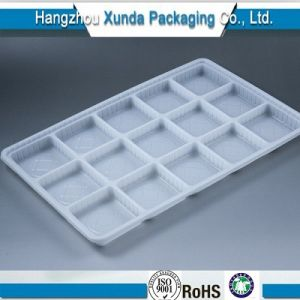 Customized Plastic Blister Chocolate Insert Tray, Disposable Chocolate Tray Decorations, Chocolate Plastic Tray