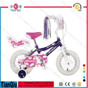 2016 Pink Princess Girls 4 Wheel Bicycle 12 14 16 20 Cheap Purple Kids Bike Children Bicycle Sale pictures & photos