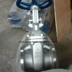150lb Cast Stainless Steel CF8 Flange Connection End Gate Valve pictures & photos