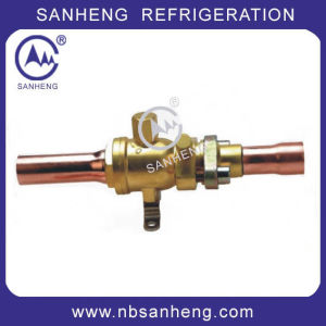 High Quality Brass Ball Valves with Charging Port pictures & photos