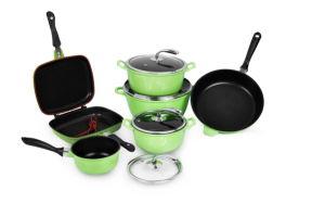 Hot Sale Cast Alunium Cookware Set 9PCS