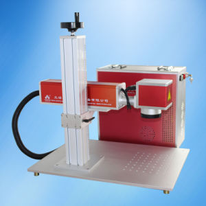 CE FDA Optical Fiber Laser Marking Machine for Screw Nut Fastener pictures & photos