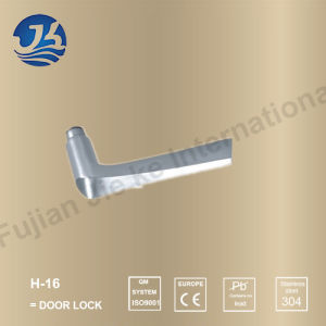 High Quality 304 Stainless Steel Door Lock (H-16) pictures & photos