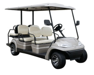 High Quality Battery Power 6 Seater Golf Car pictures & photos