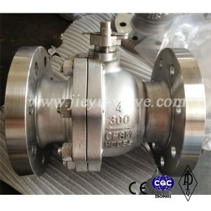 CF8 150lb Flange Ball Valve 1inch pictures & photos